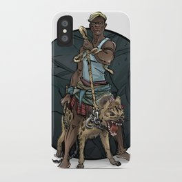 African Thug iPhone Case