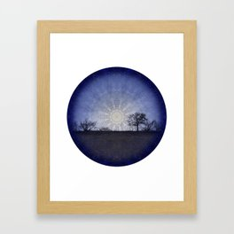 Celestial Clockwork Framed Art Print