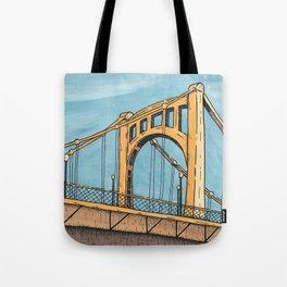 Roberto Clemente Bridge - Pittsburgh Tote Bag