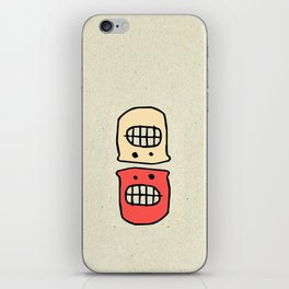 life sometimes is confusing  iPhone Skin