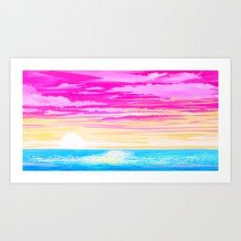 Pan Sky Art Print