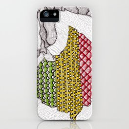 Patterns on Ethiopia iPhone Case