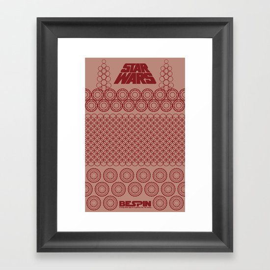 Star Wars- Bespin Framed Art Print