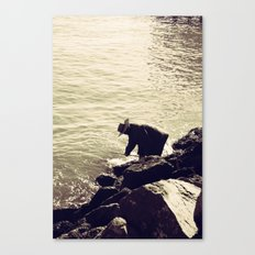 Fisherman at Sausalito Canvas Print