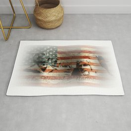 The Rise of a Nation Rug