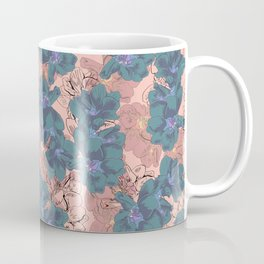 Faded Hibiscus Pink Coffee Mug