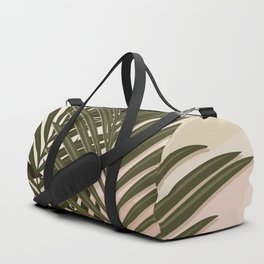 Nomade Palms / Palm leaves, Abstract shapes Duffle Bag