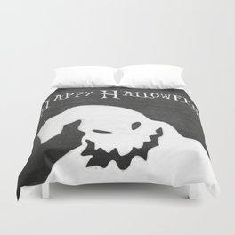 Chalkboard Happy Halloween Oogie Boogie Duvet Cover