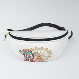 I LOVE VIENNA Austria Tourist Tourism City Travel Fanny Pack