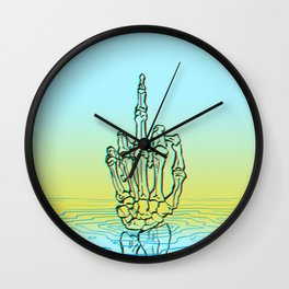 fuck up Wall Clock