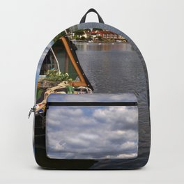 The River Thames At Marlow Backpack