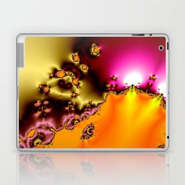 glowing frogs in pool Laptop & iPad Skin