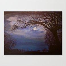 Nacht Canvas Print