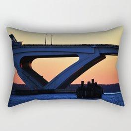Connect the States Rectangular Pillow