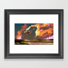 Cloud Machine Framed Art Print