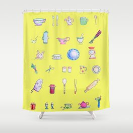 Heart of the Home- Bright Shower Curtain