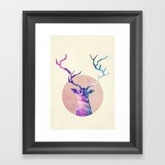 Heiwa shika inai Framed Art Print