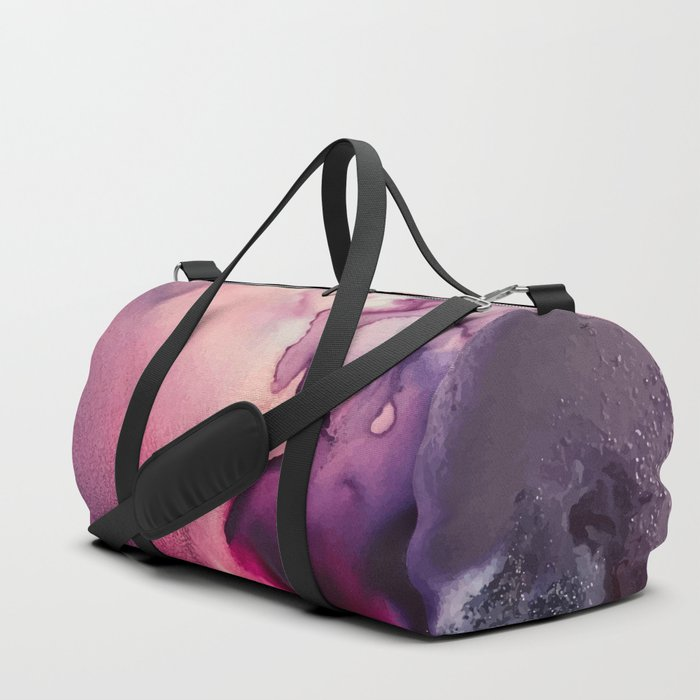 Mission Fusion - Mixed Media Painting Duffle Bag