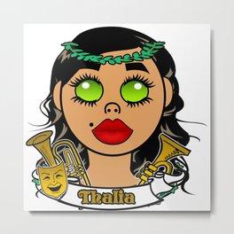 Thalia of Nine Muses Metal Print