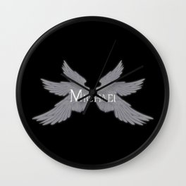 Archangel Michael with Wings Wall Clock
