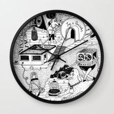 EL TANQUE CARCEDO Wall Clock