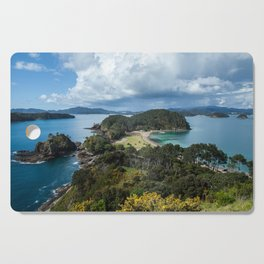 Roberton Island New Zealand August 2015 Cutting Board