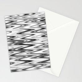 WAVY #1 (Grays & White) Stationery Cards