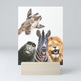 Jungle Animal Friends Mini Art Print