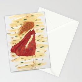 Leaf Away Stationery Cards