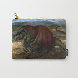 Red Winged Dragon Carry-All Pouch