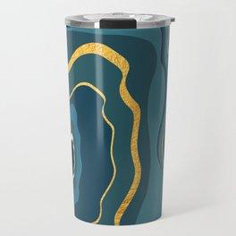 geode bleue Travel Mug