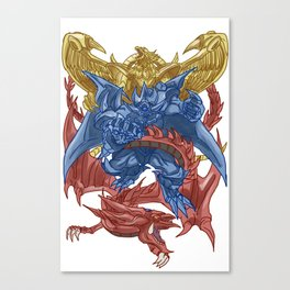 Egyptian God Monsters Canvas Print