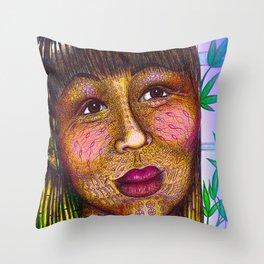 Wisdom Keeper Color #10 (Naturalness) Throw Pillow