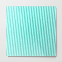 Mint hearts Metal Print