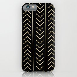 Mudcloth Black iPhone Case