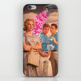 Teen Thoughts iPhone Skin