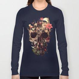 Bloom Skull Long Sleeve T-shirt