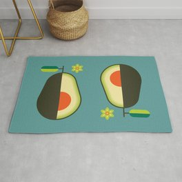 Fruit: Avocado Rug