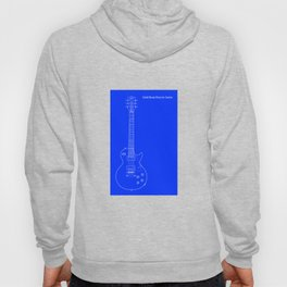 Solid Body Electric Guitar Blueprint Hoody