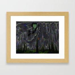 Digital Fog Framed Art Print