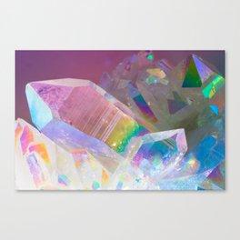 Opal Aura Quartz Crystal 1 Canvas Print