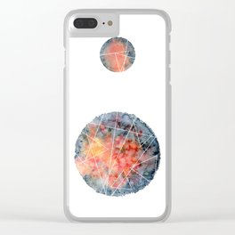 Space fantasies Clear iPhone Case