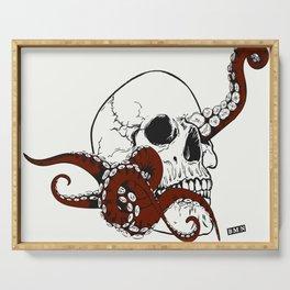 Skull octopus Serving Tray