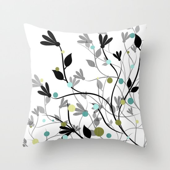 Blissful Breeze Throw Pillow