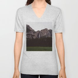 Yosemite Falls IV Unisex V-Neck