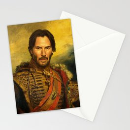 Keanu Reeves - replaceface Stationery Cards