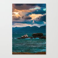 greece Canvas Prints featuring Greece by Evgeny Eremeev