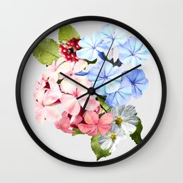 Wishing for Spring Wall Clock