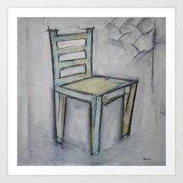 The Artist's Chair Art Print