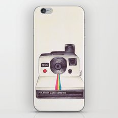 Ballpoint Pen Polaroid iPhone & iPod Skin